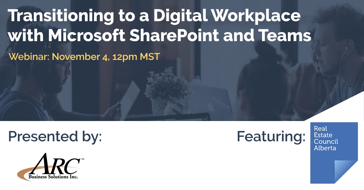 Transitioning to a Digital Workplace with Microsoft SharePoint and Teams [Webinar]