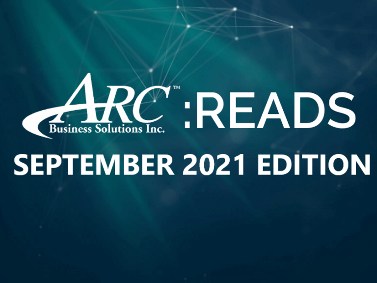 ARC Reads: September 2021 Edition